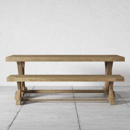 Cross Base 78, Table and Bench0000 R