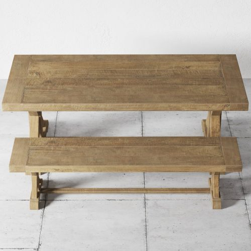 Cross Base 78, Table and Bench0001