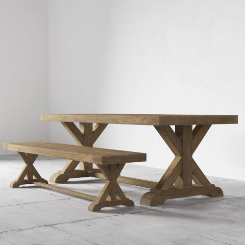 Cross Base 78, Table and Bench0002