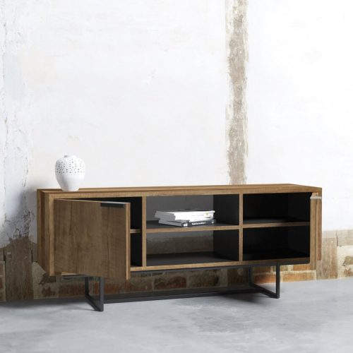 ADDITIONAL (2) PARISIAN FACTORY 2 SHELF CONSOLE - ODE-2019-003 Rev 02 ( TV Meubel Odeon II 150 cm ) 2