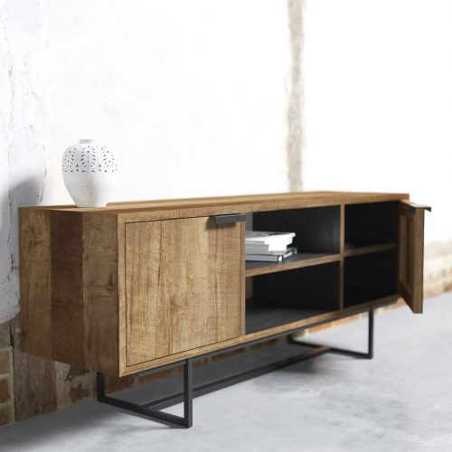 ADDITIONAL (3) PARISIAN FACTORY 2 SHELF CONSOLE - ODE-2019-003 Rev 02 ( TV Meubel Odeon II 150 cm ) doof
