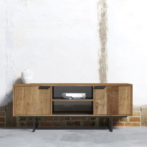 MAIN PARISIAN FACTORY 2 SHELF CONSOLE - ODE-2019-003 Rev 02 ( TV Meubel Odeon II 150 cm ) 1